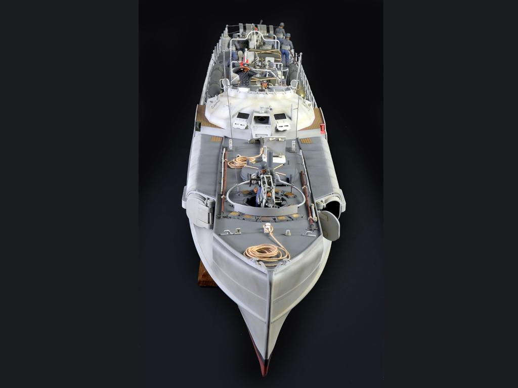 Lancha Torpedera Schnellboot S 100 (Vista 7)