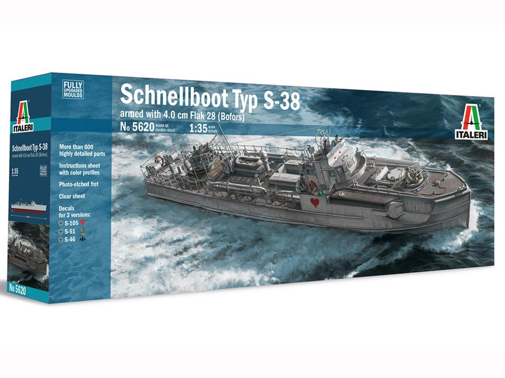 Schnellboot Typ S-38 (Vista 1)