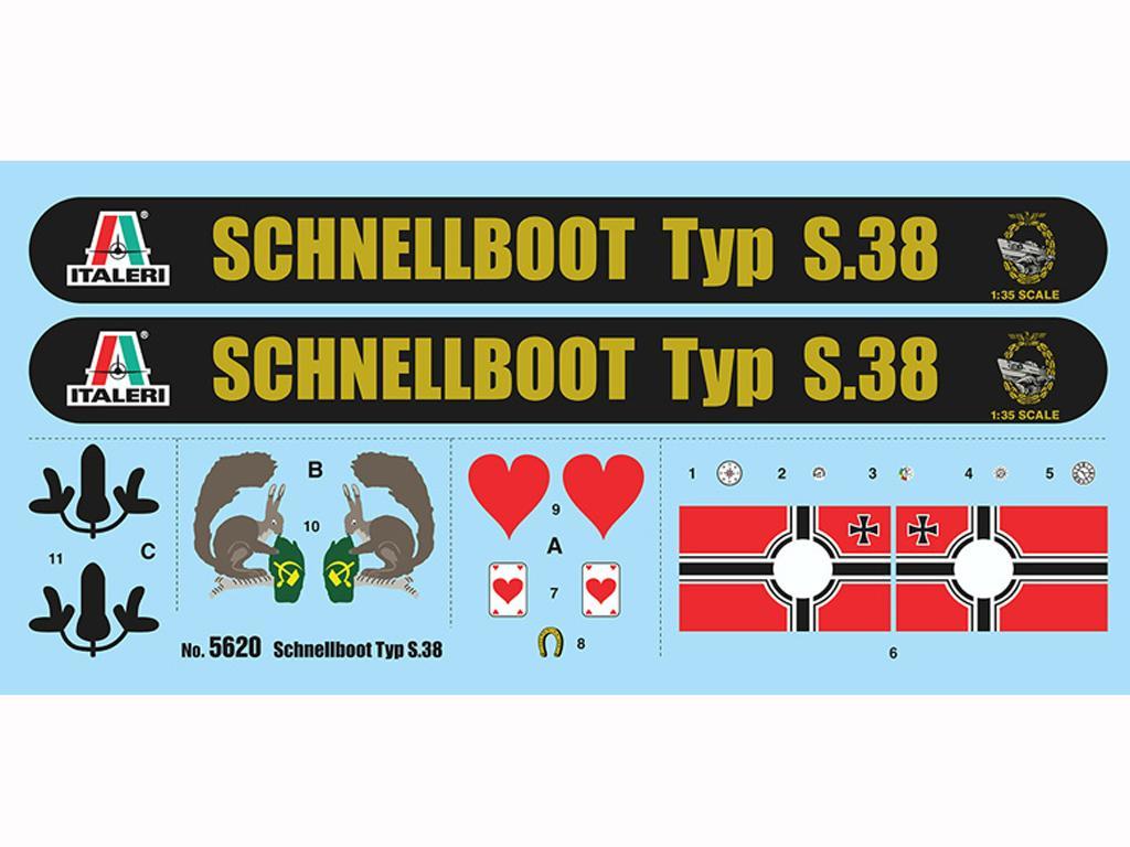 Schnellboot Typ S-38 (Vista 3)