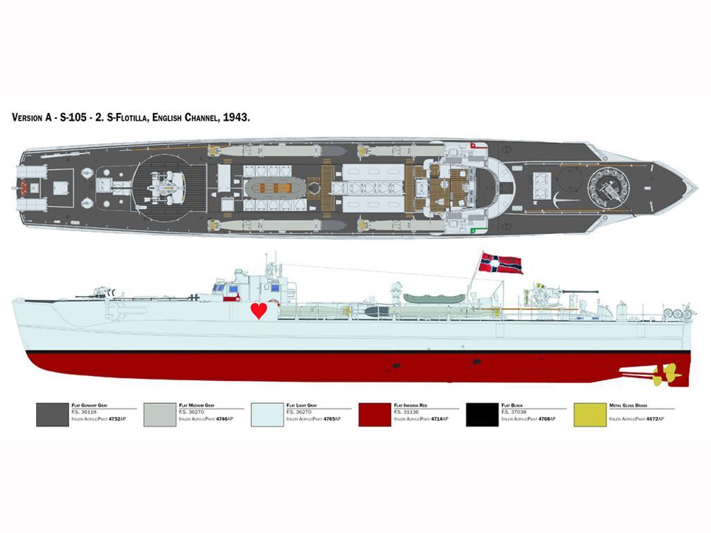 Schnellboot Typ S-38 (Vista 4)