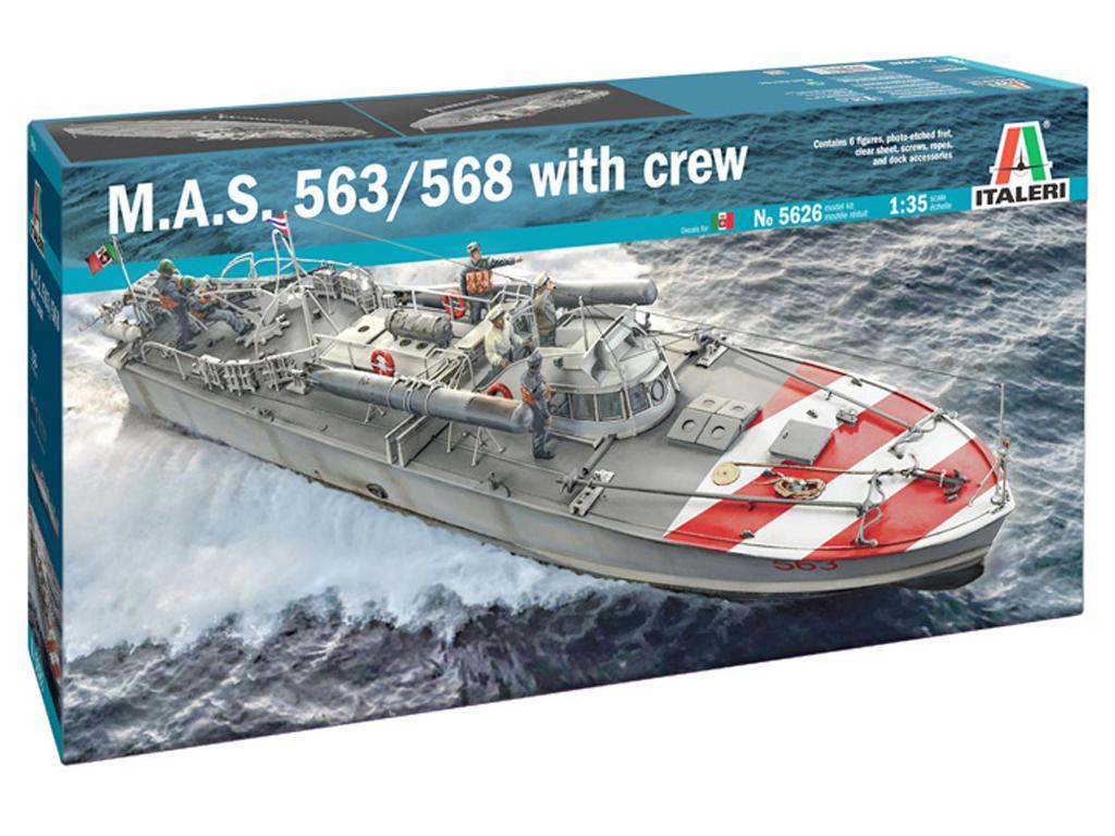 M.A.S. 563/568 with Crew (Vista 1)