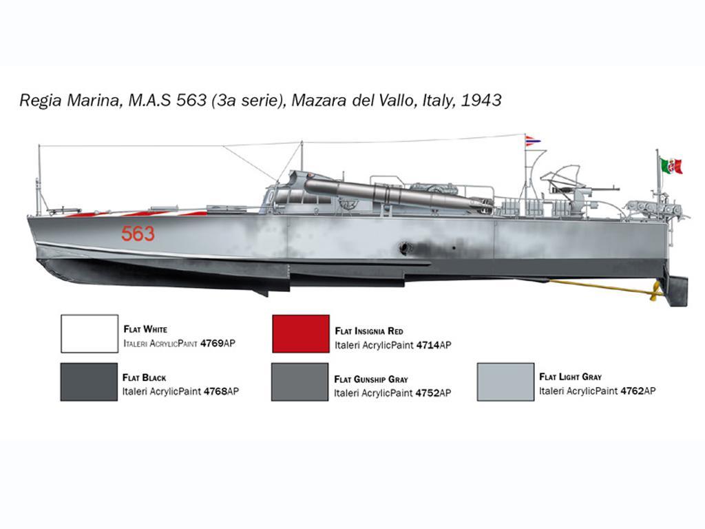 M.A.S. 563/568 with Crew (Vista 5)