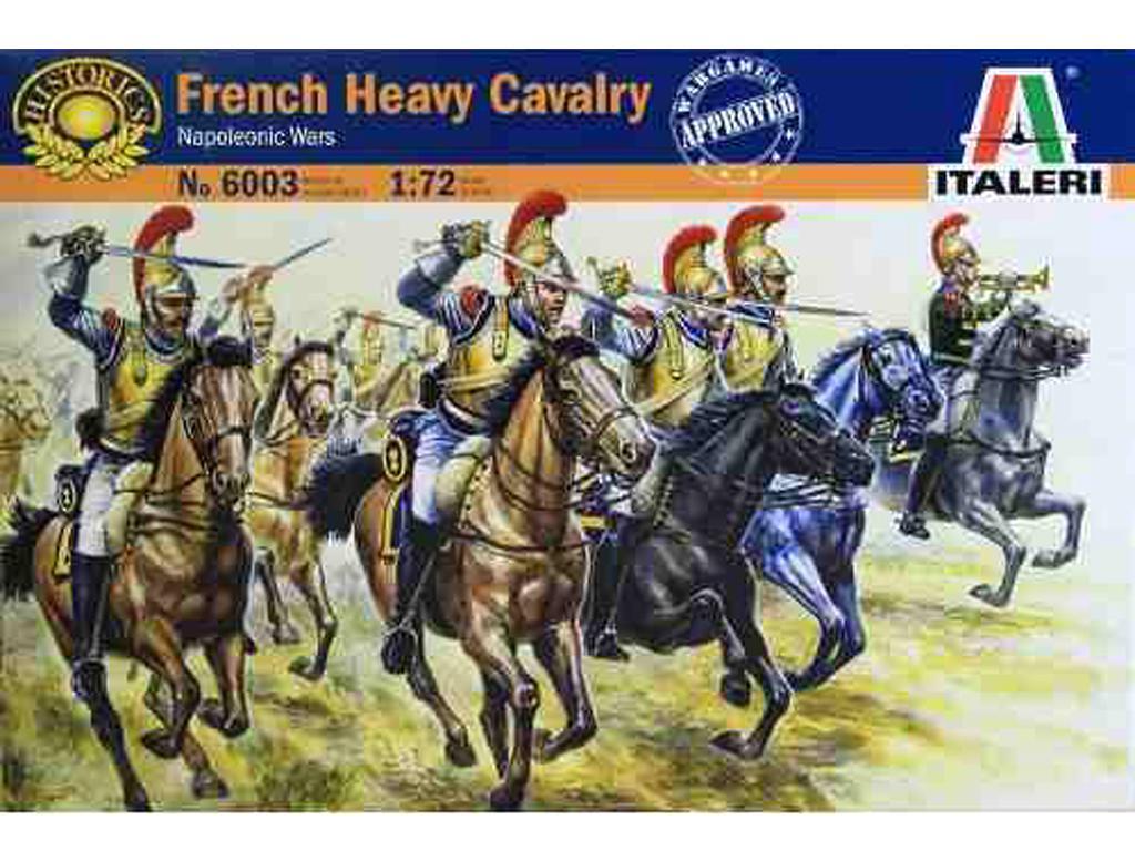 Caballeria Pesada Francesa, Guerras Napo (Vista 1)