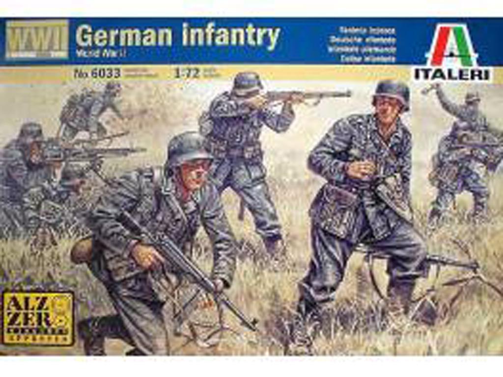 Infantería Alemana (Vista 1)
