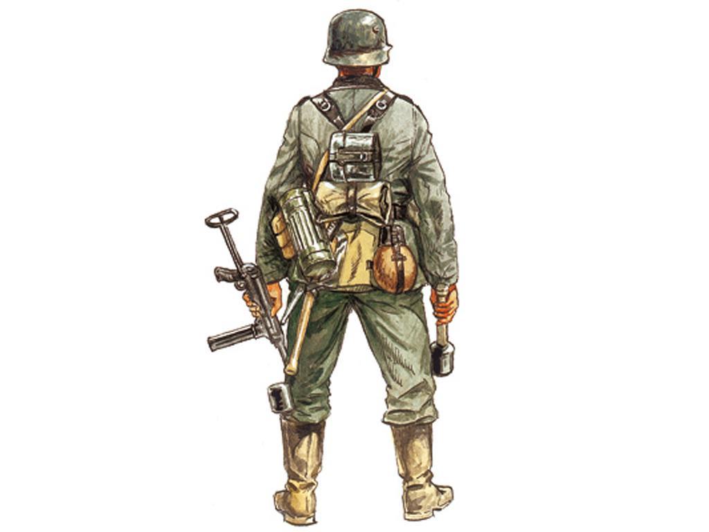 Infantería Alemana (Vista 2)