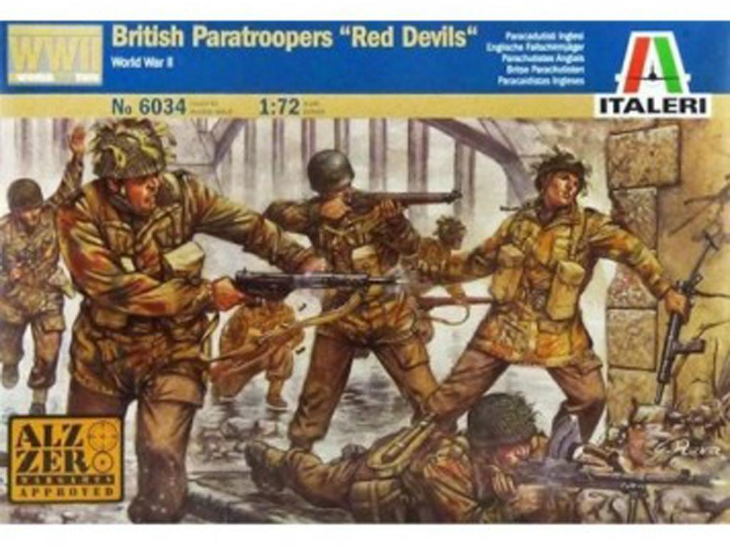 Red Devils Ingleses (Vista 1)