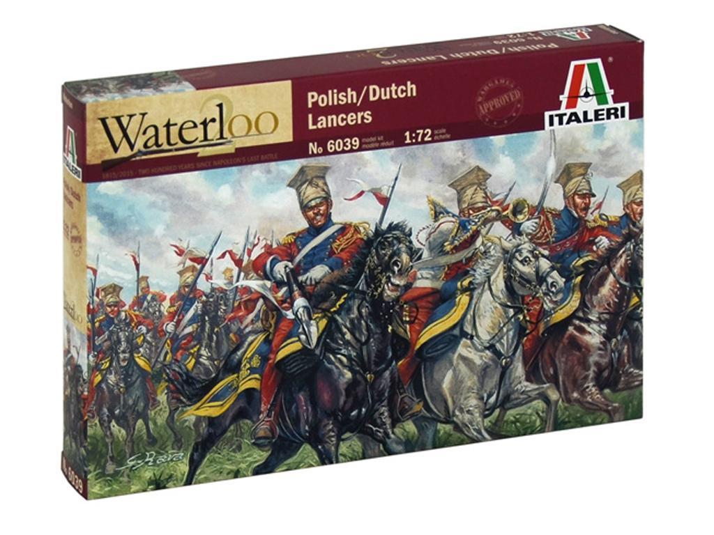 Lanceros Polaco Holandeses, Guerras Napo (Vista 1)