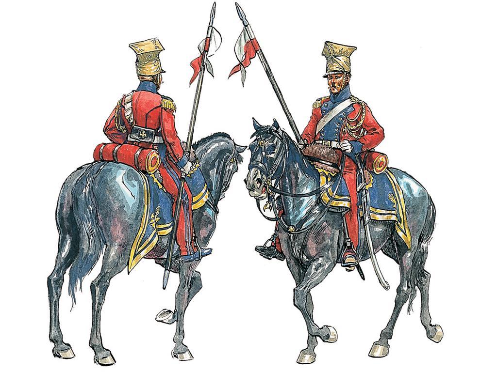 Lanceros Polaco Holandeses, Guerras Napo (Vista 2)