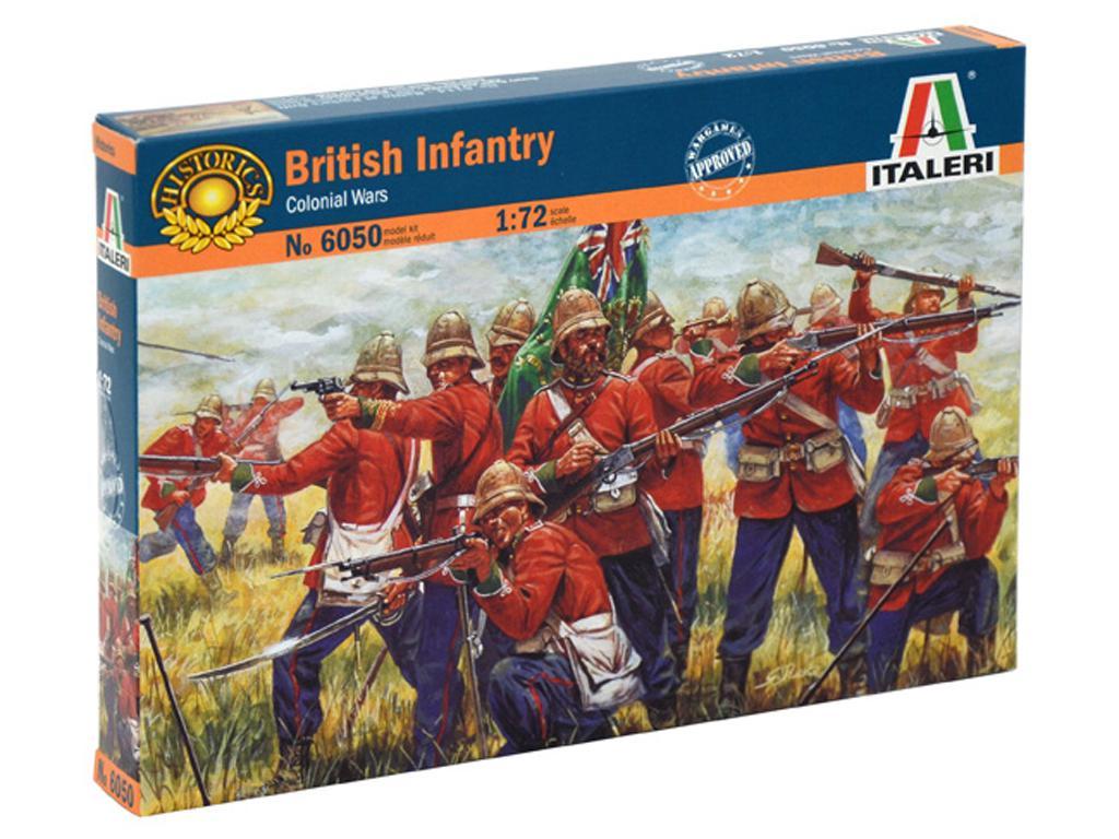 Infanteria Britanica, Guerra Zulu (Vista 1)