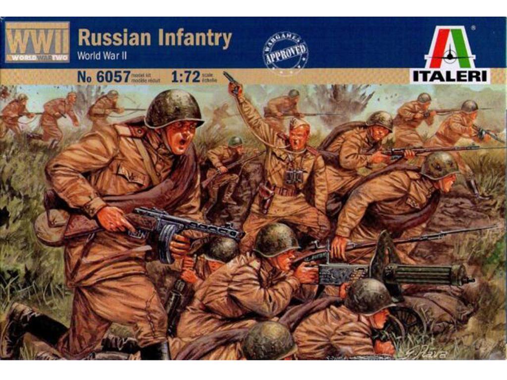 Infanteria Rusa (Vista 1)