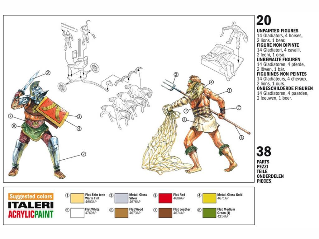 Gladiadores (Vista 2)