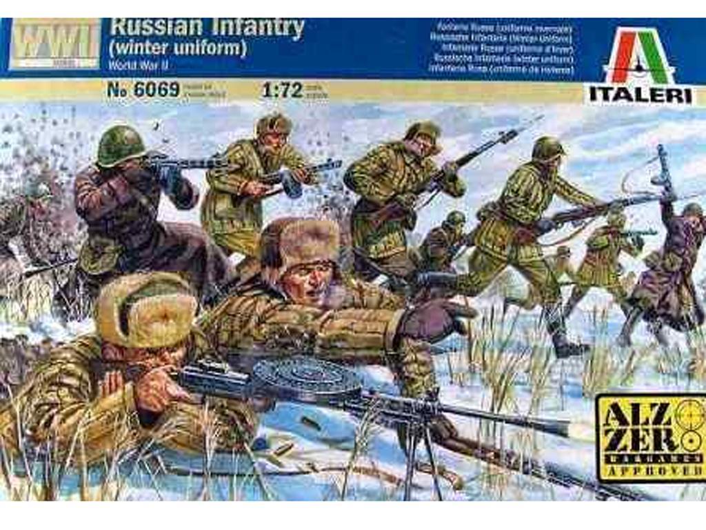 Infanteria Rusa con uniforme de Invierno (Vista 1)