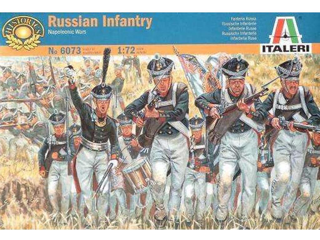 Infanteria Rusa ; Guerras Napoleonicas (Vista 1)