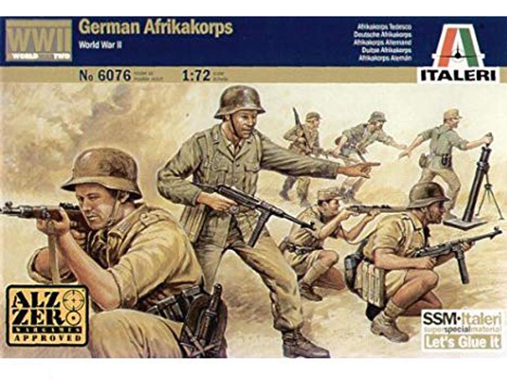 Soldados Alemanes , Africa Korps (Vista 1)