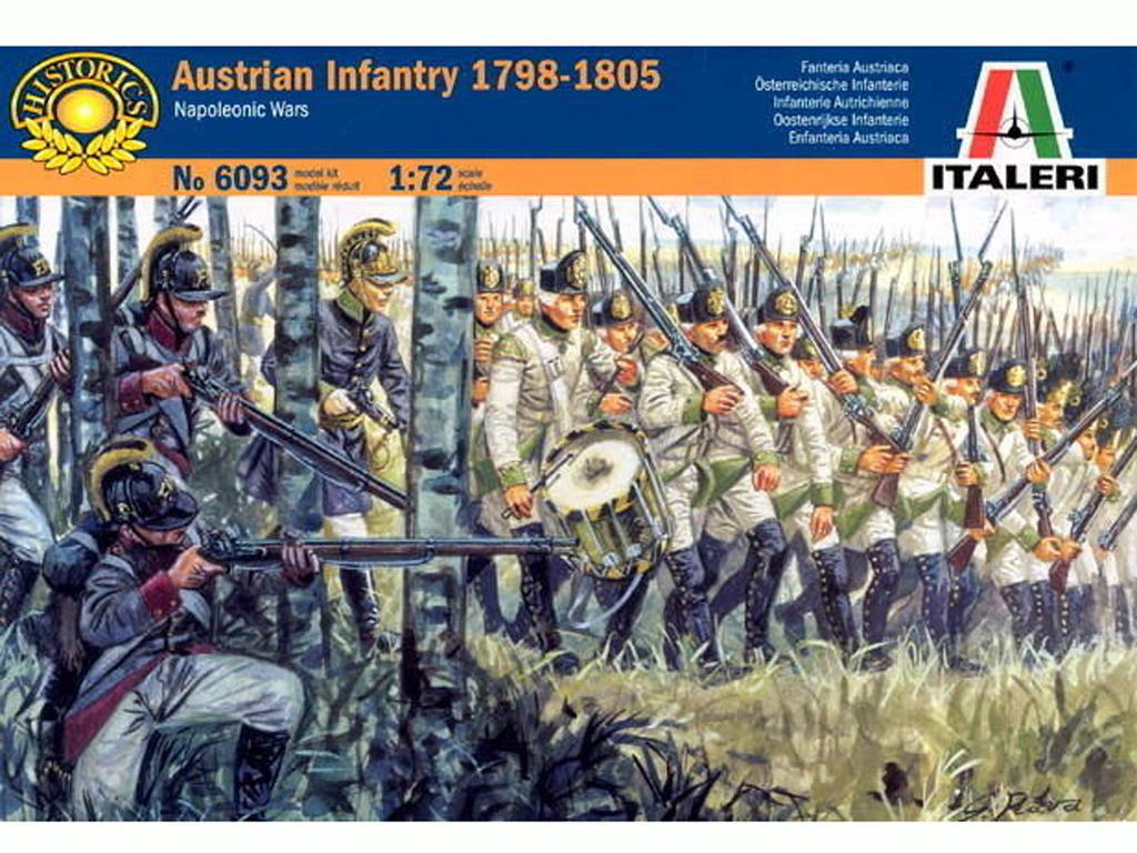 Infanteria Autriaca 1800-05, Guerras Nap (Vista 1)