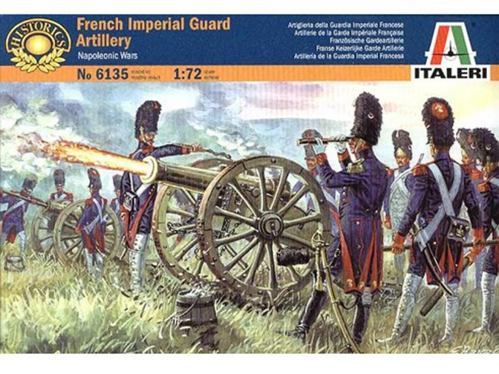 Artilleria Francesa Guardia Imperial (Vista 1)