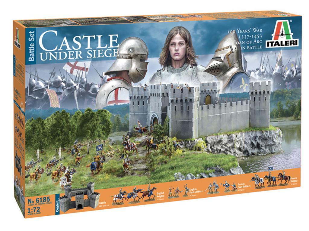 Castillo bajo asedio - Guerra de los 100 años 1337/1453  (Vista 1)