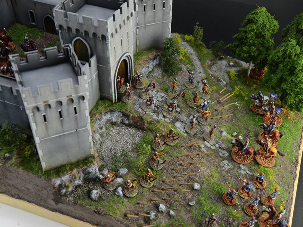 Castillo bajo asedio - Guerra de los 100 años 1337/1453  (Vista 12)