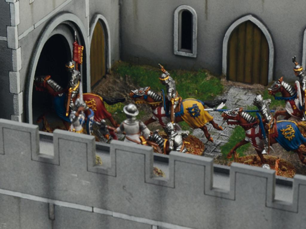 Castillo bajo asedio - Guerra de los 100 años 1337/1453  (Vista 13)