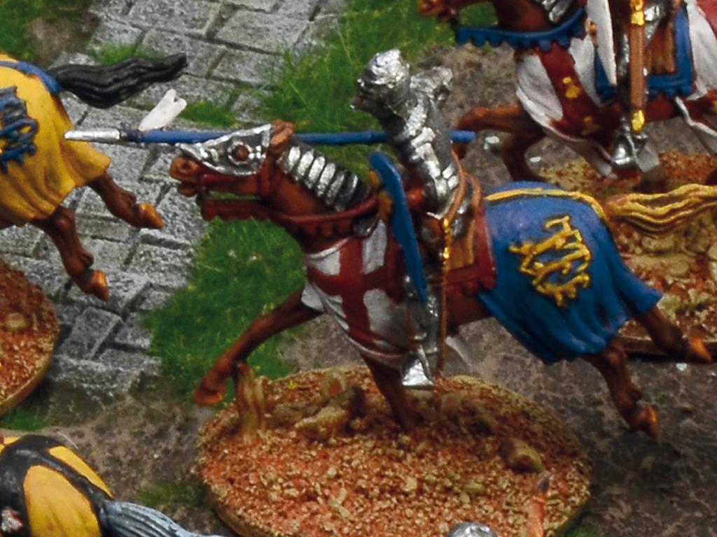 Castillo bajo asedio - Guerra de los 100 años 1337/1453  (Vista 15)