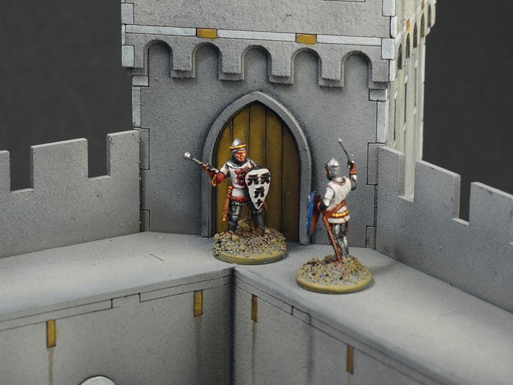Castillo bajo asedio - Guerra de los 100 años 1337/1453  (Vista 16)