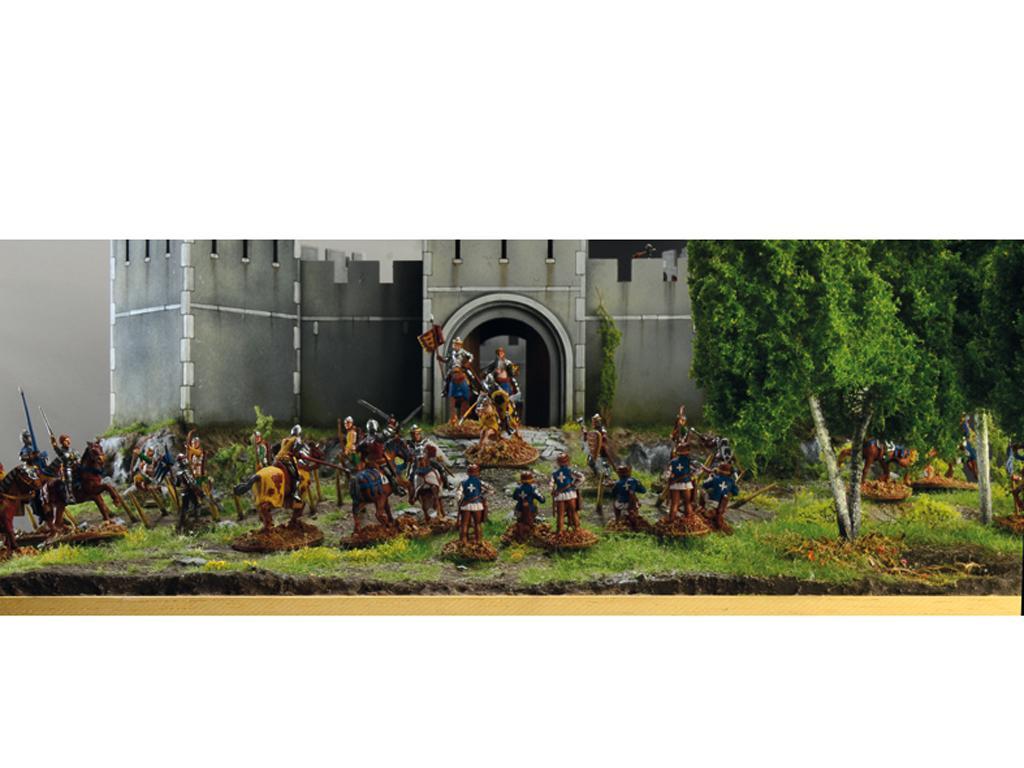 Castillo bajo asedio - Guerra de los 100 años 1337/1453  (Vista 17)
