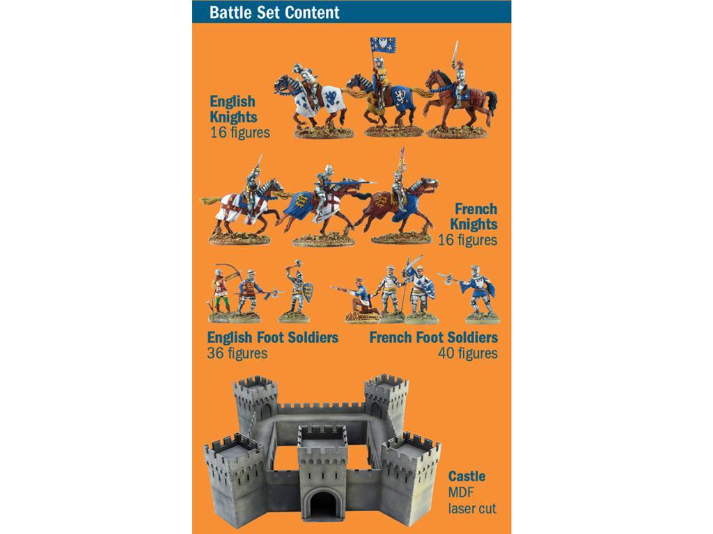 Castillo bajo asedio - Guerra de los 100 años 1337/1453  (Vista 3)