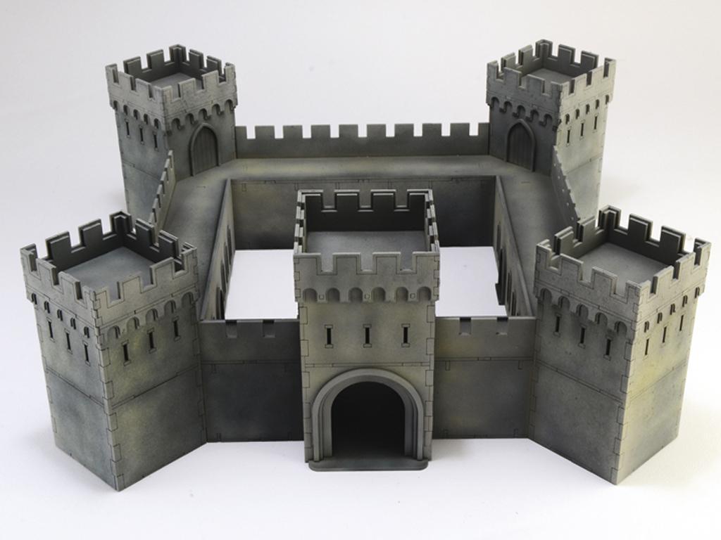 Castillo bajo asedio - Guerra de los 100 años 1337/1453  (Vista 4)
