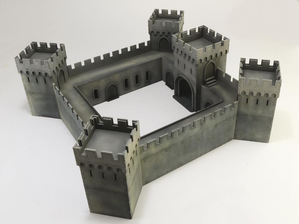 Castillo bajo asedio - Guerra de los 100 años 1337/1453  (Vista 5)