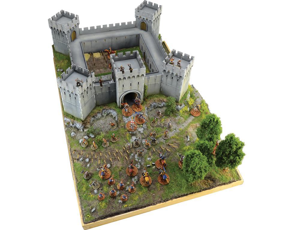 Castillo bajo asedio - Guerra de los 100 años 1337/1453  (Vista 6)