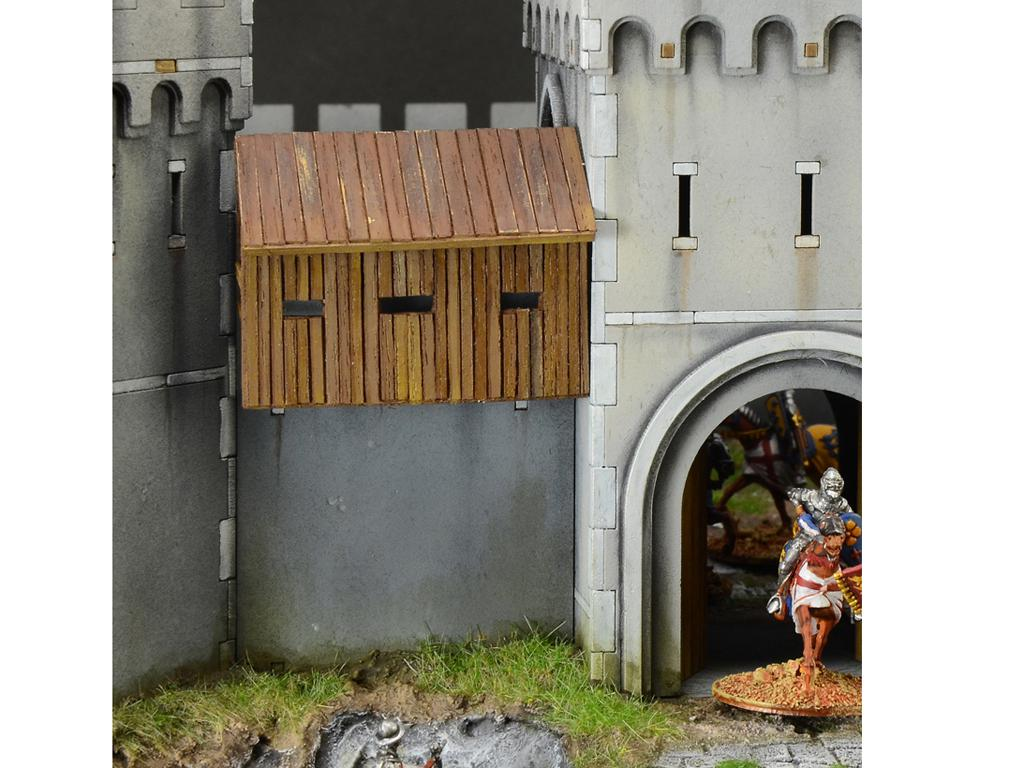 Castillo bajo asedio - Guerra de los 100 años 1337/1453  (Vista 8)