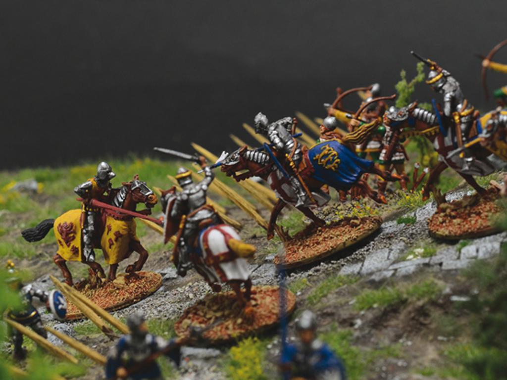 Castillo bajo asedio - Guerra de los 100 años 1337/1453  (Vista 9)