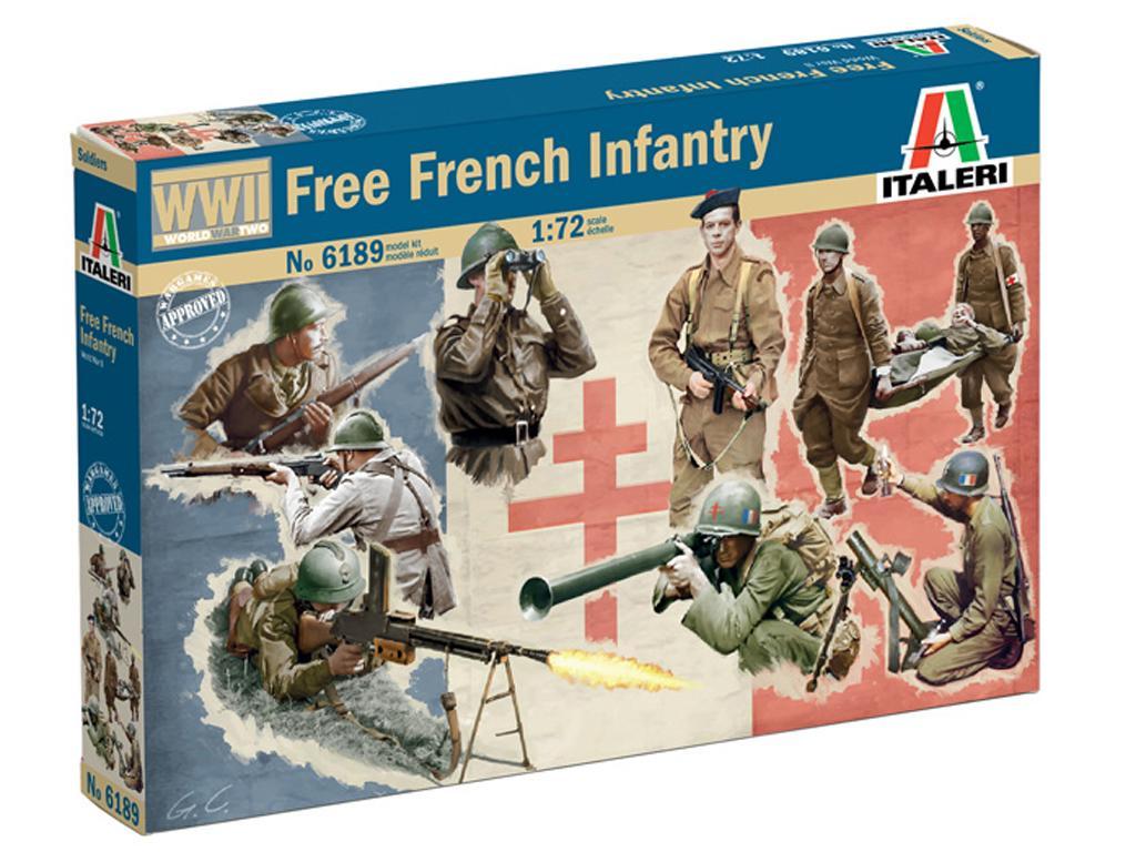 Infantería Francesa Libre (Vista 1)
