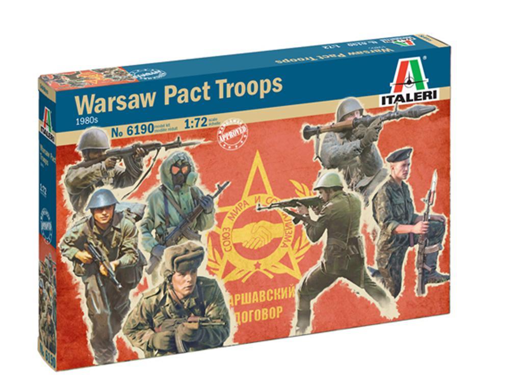 Tropas del Pacto de Varsovia 1980 (Vista 1)