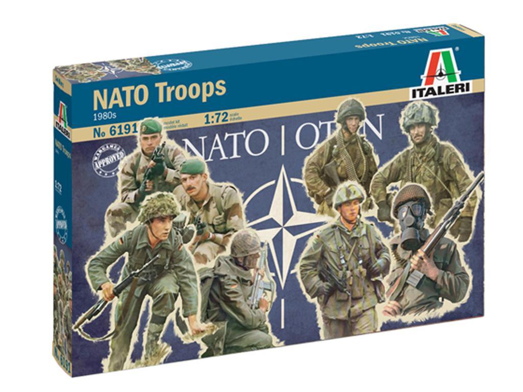 Tropas de la OTAN 1980 (Vista 1)