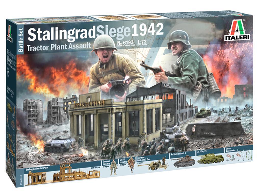 Asedio de Stalingrado 1942 - Set de batalla (Vista 1)