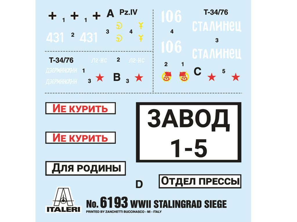 Asedio de Stalingrado 1942 - Set de batalla (Vista 11)
