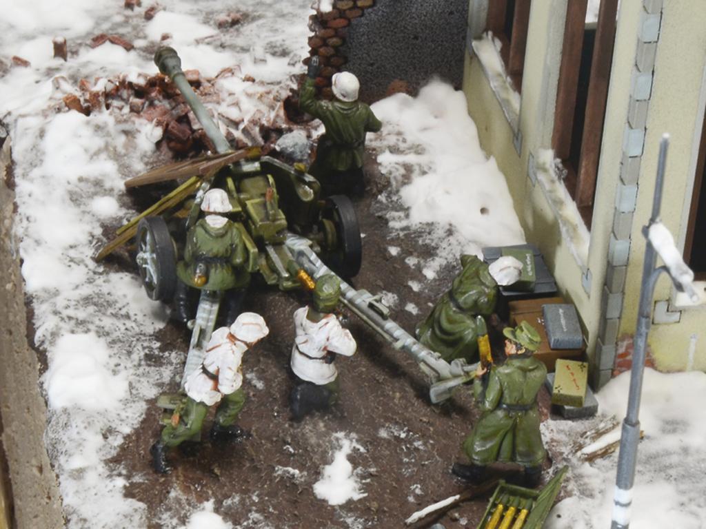 Asedio de Stalingrado 1942 - Set de batalla (Vista 13)