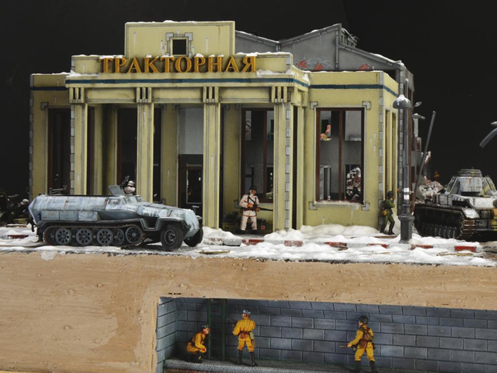 Asedio de Stalingrado 1942 - Set de batalla (Vista 3)
