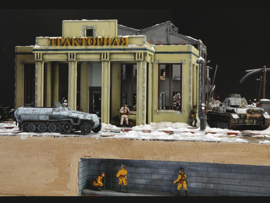 Asedio de Stalingrado 1942 - Set de batalla (Vista 9)