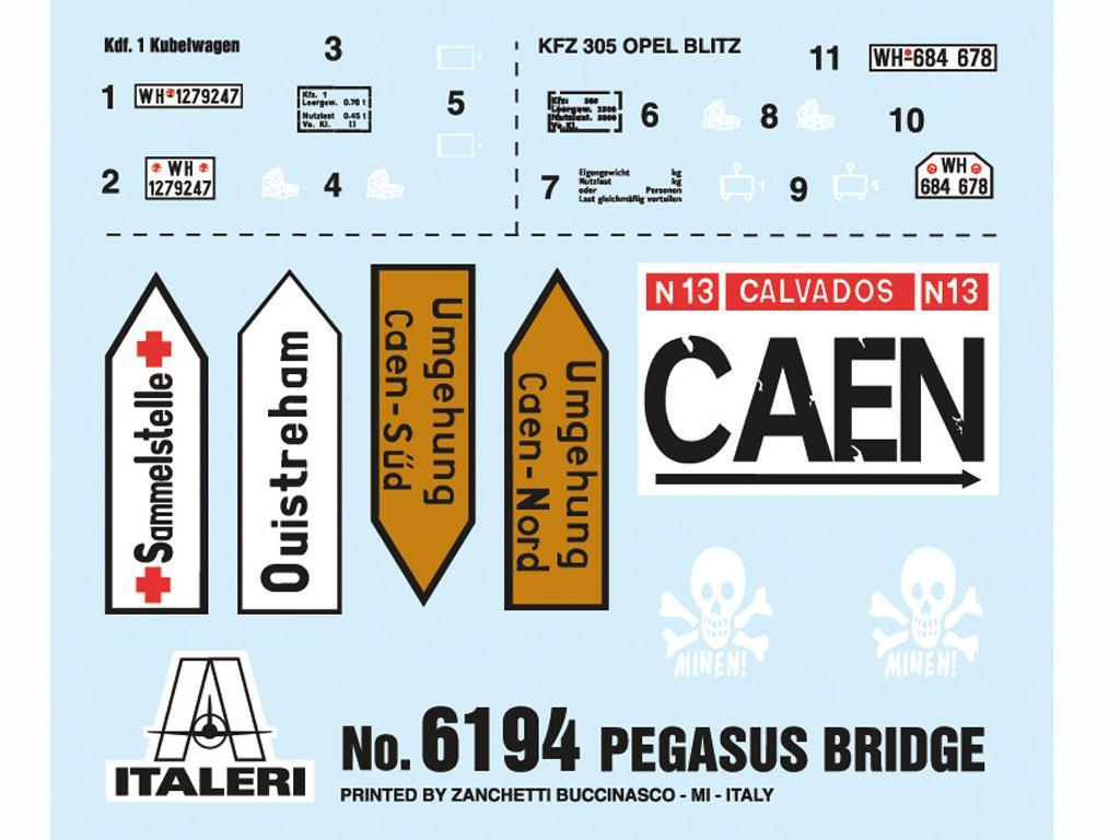 Puente Pegasus - D.Day 75°Ann (Vista 20)