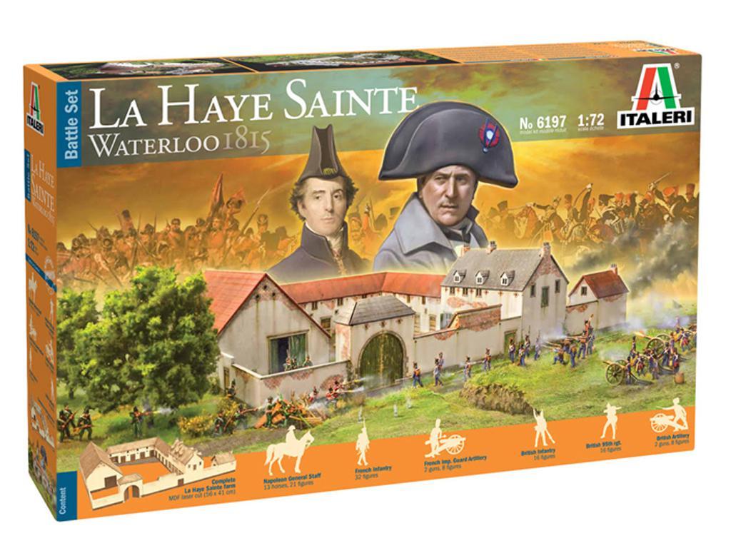 La Haye Sainte Waterloo 1815 (Vista 1)