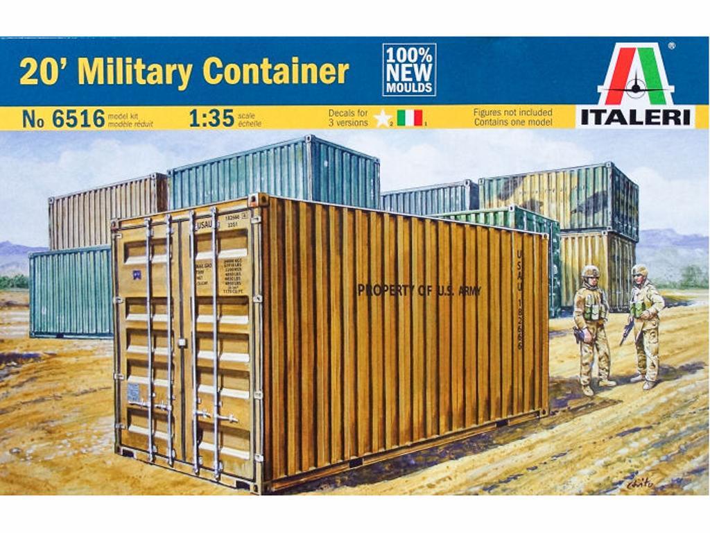 Contenedor Militar (Vista 1)