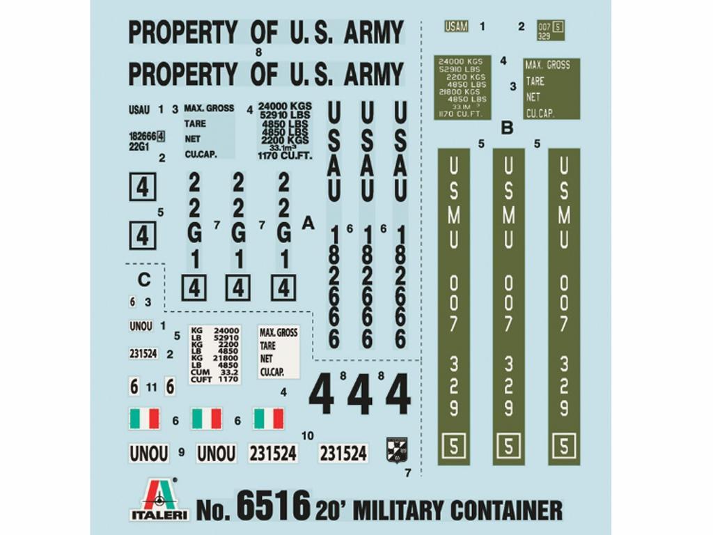 Contenedor Militar (Vista 3)