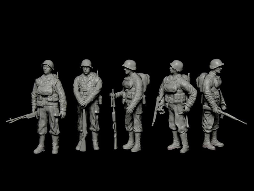 LCVP with U.S. Infantry (Vista 6)