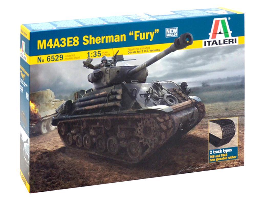 Sherman M4A3E8 versión  (Vista 1)