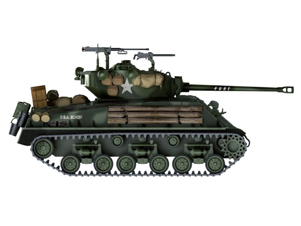 Sherman M4A3E8 versión  (Vista 2)