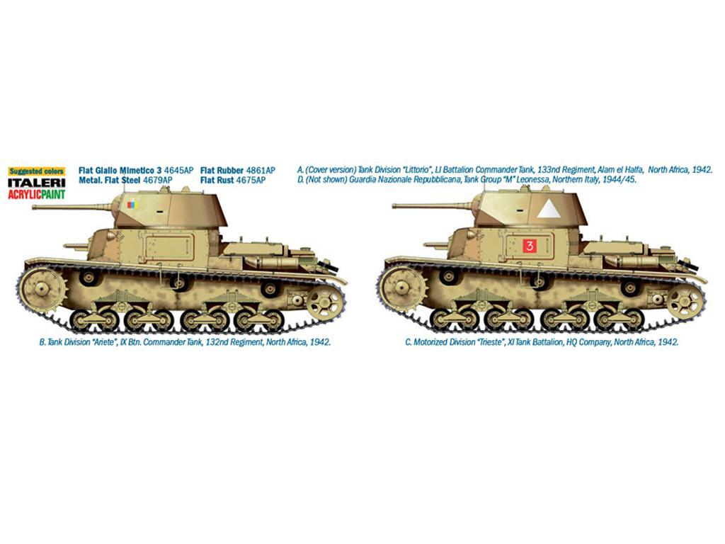 M14 / 41 con infantería italiana (Vista 2)