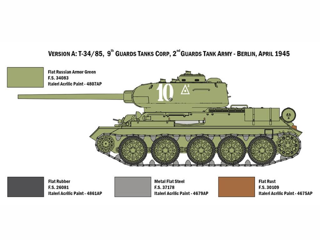 T34/85 Zavod 183 Mod. 1944 (Vista 5)