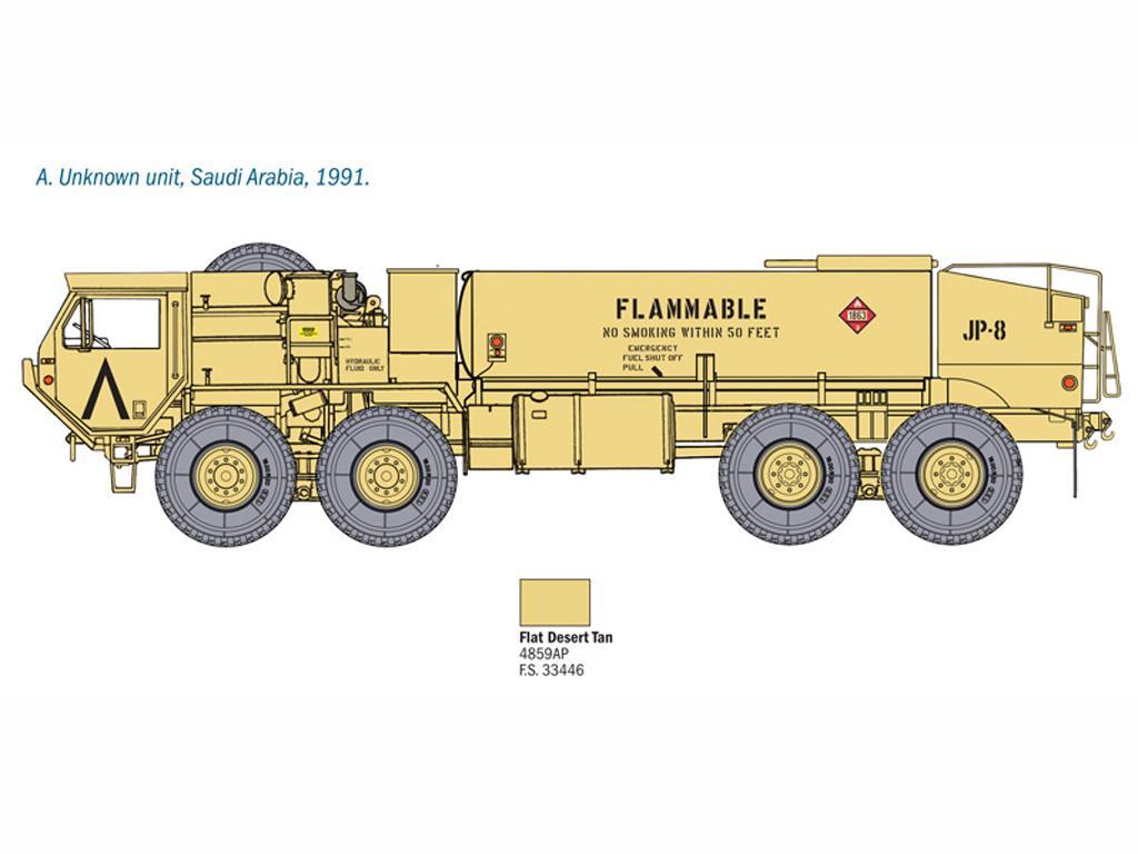 M978 Fuel Servicing Truck (Vista 4)